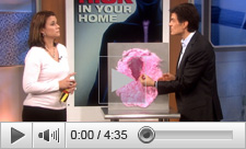The #1 Cancer Risk At Home on the Dr. Oz Show